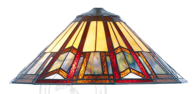 Dome Lampe Tiffany O 40 Cm Collection Art Deco Lampes Tiffany