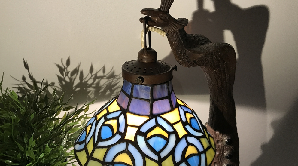 Lampe Tiffany Cobra