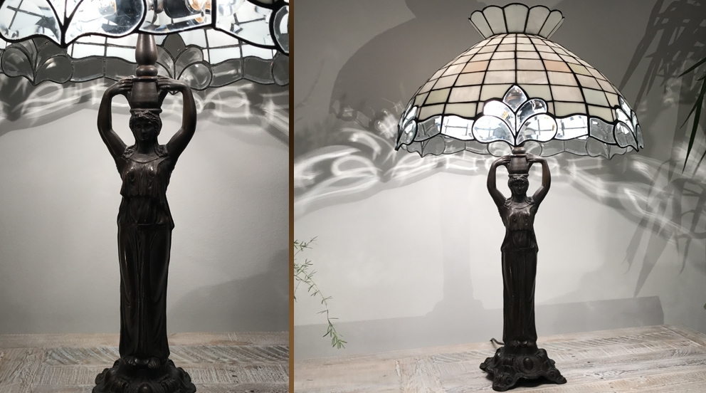 Lampe Tiffany Nuits Blanches