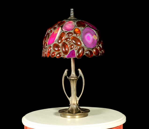 Lampe Tiffany : précieuse Agate