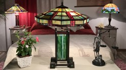 Grande lampe Tiffany  Ivresse aux regards