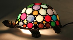 Petites Multicolore Lampe Tiffany Lampes Tortue 67gbYfy